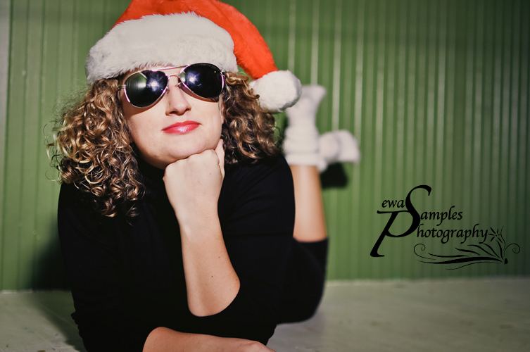 ewa samples, christmas photoshoot1