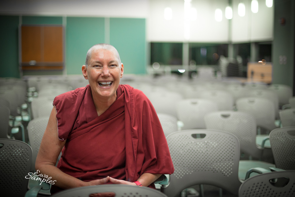 Female Buddhist Nun, Venerable Tenzin Chogkyi-1