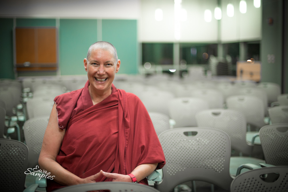 Female Buddhist Nun, Venerable Tenzin Chogkyi-2